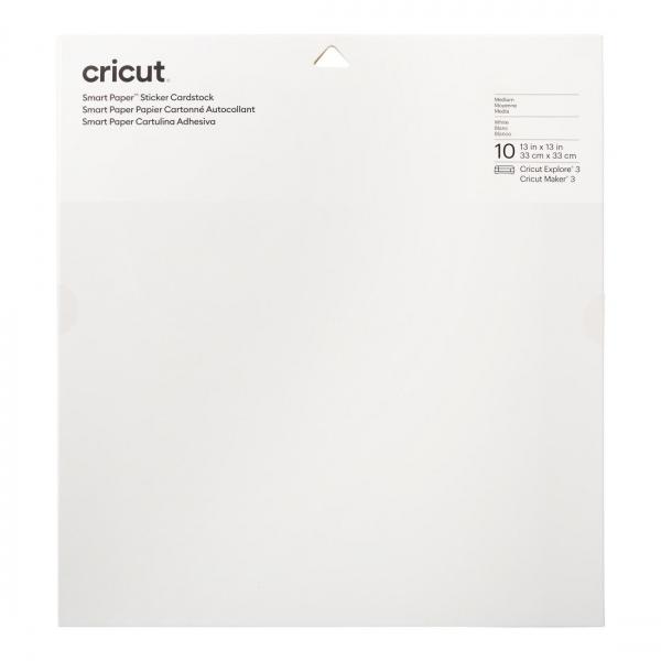 Smart Sticker Cardstock 33 x 33 cm valge