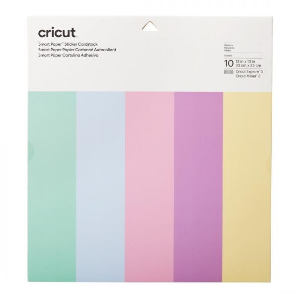 Smart Sticker Cardstock pastelsed 10 tk