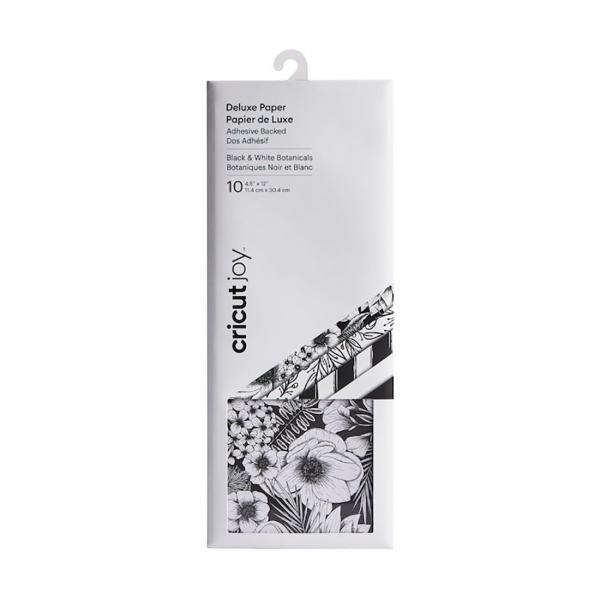 Cricut Deluxe Paper Black & White Botanicals