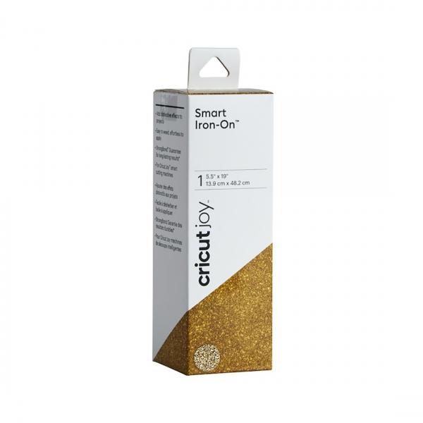 Smart Iron-On Glitter Gold