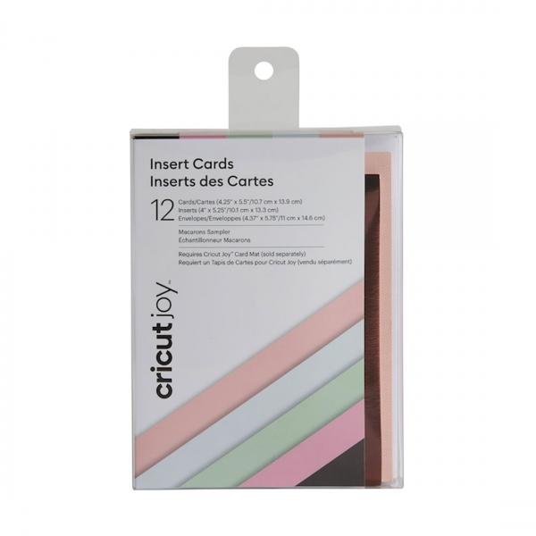 Cricut Joy™ Insert Cards, Macarons Sampler