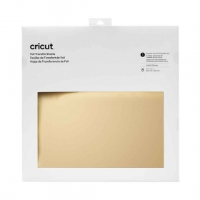 Cricut Foil Transfer Sheets 30x30 cm Gold