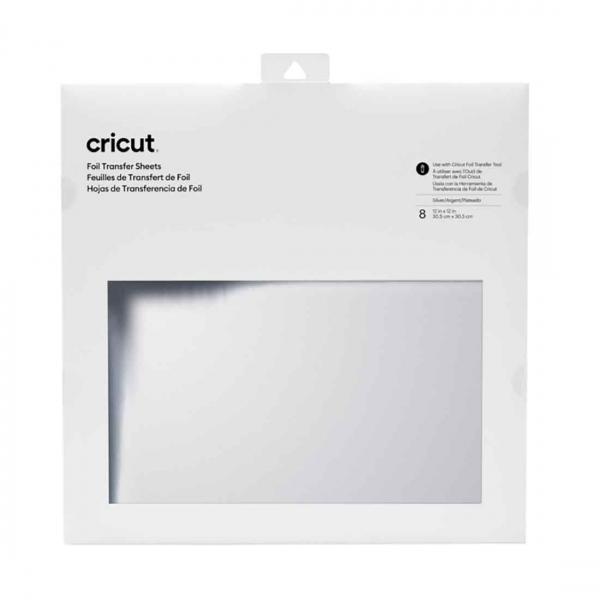 Cricut Foil Transfer Sheets 30x30 cm Silver