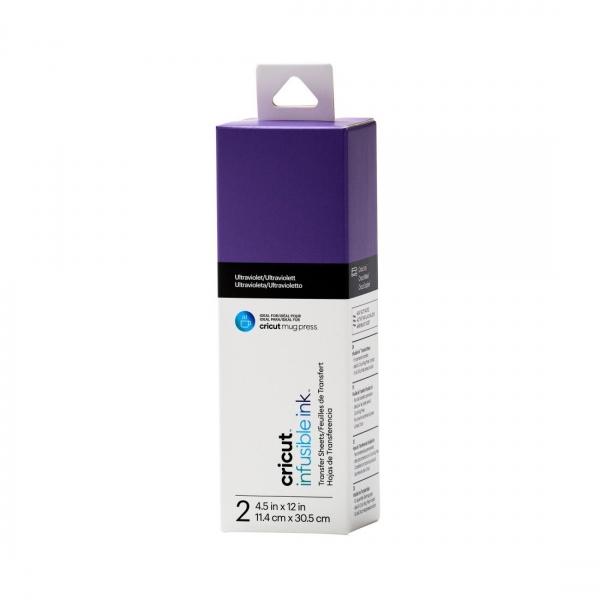 Infusible Ink Transfer Sheets Ultraviolet (2tk)