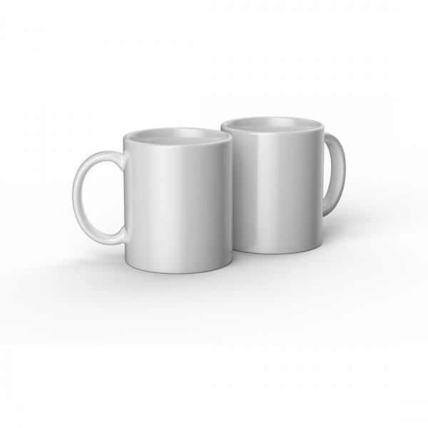 Cricut valge keraamiline tass 350ml (2 tk)
