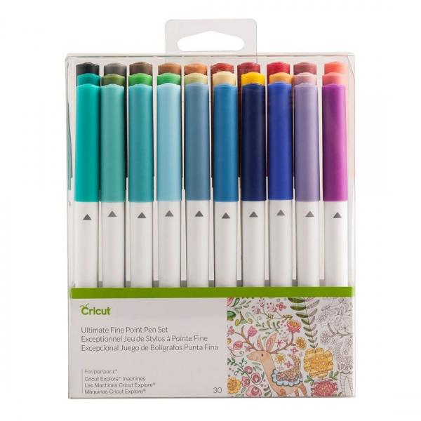Cricut Ultimate Fine Point Pen Set 30 tk
