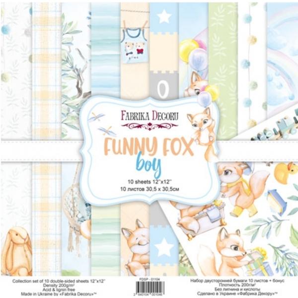 Funny Fox Boy