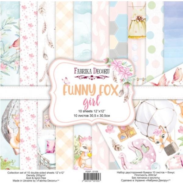 Funny Fox Girl
