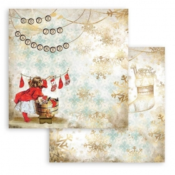 Stamperia Romantic Christmas Socks