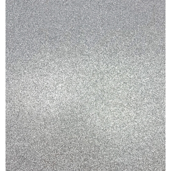 """Kahepoolne glitterkartong Silver 12"""""""