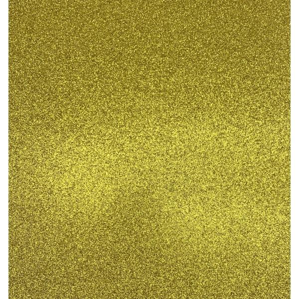 """Kahepoolne glitterkartong Gold 12"""""""
