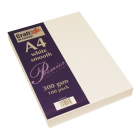 Premium Collection A4 White Smooth Paper Pack
