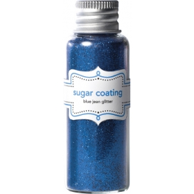 Doodlebug Design Blue Jean Sugar Coating Glitter