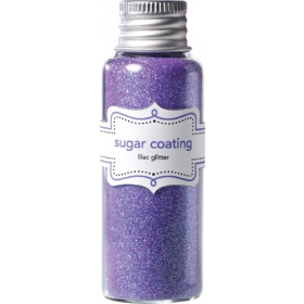 Doodlebug Design Lilac Sugar Coating Glitter