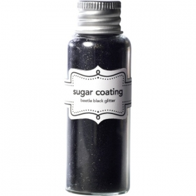 Doodlebug Design Beetle Black Sugar Coating Glitter