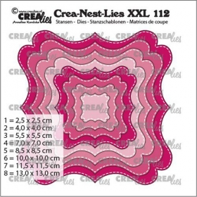 Crealies Crea-nest-dies XXL Fantasy form F Stitch