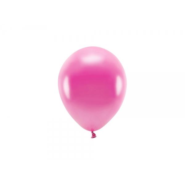 ECO õhupallid Fuksia Metallik (10 tk)