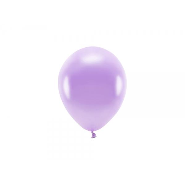 ECO õhupallid Lavendel Metallik (10 tk)