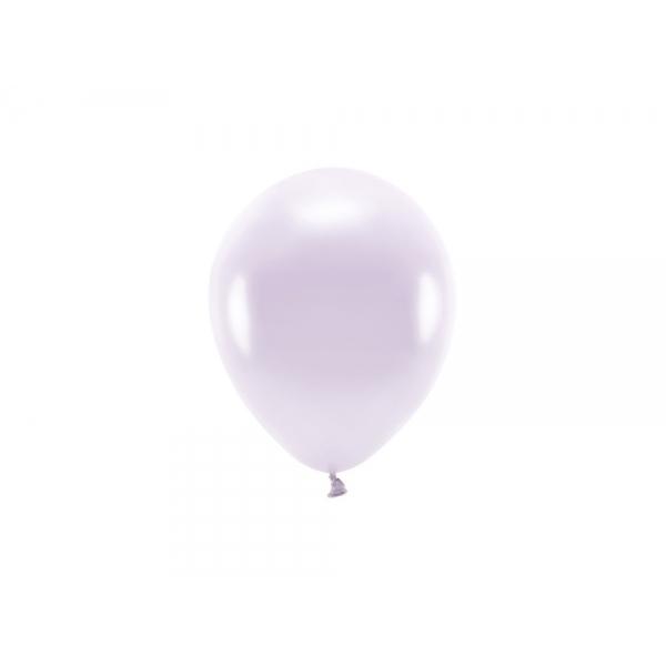 ECO õhupallid Lilla Metallik (10 tk)