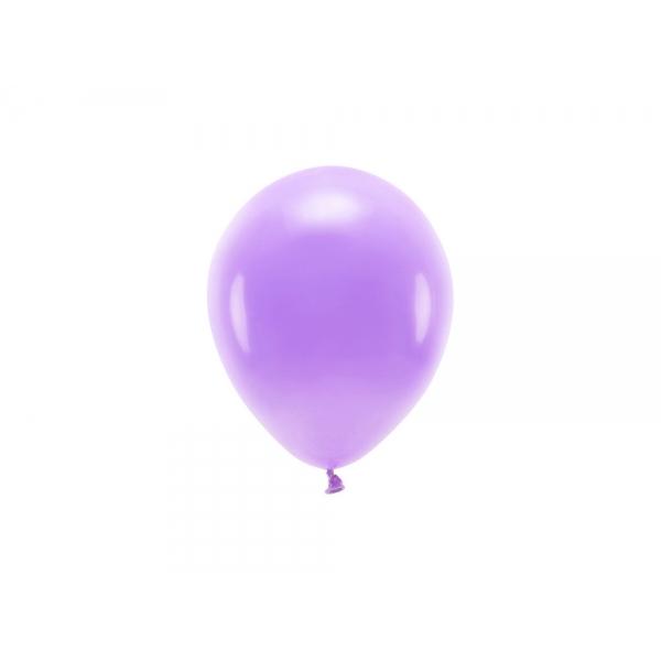 ECO õhupallid Lavendel Pastelne (10 tk)