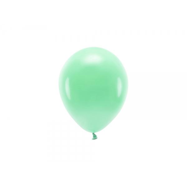 ECO õhupallid Münt Pastelne (10 tk)