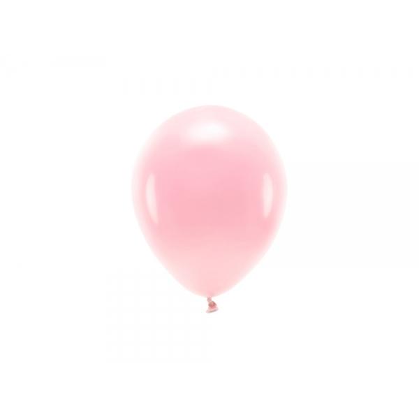 ECO õhupallid Roosa Pastelne (10 tk)
