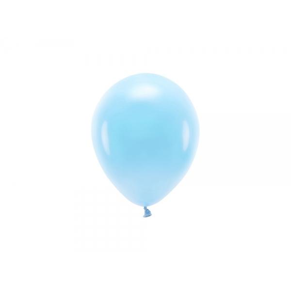ECO õhupallid Taevasinine Pastelne (10 tk)