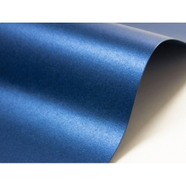 Majestic metallik Satin Blue
