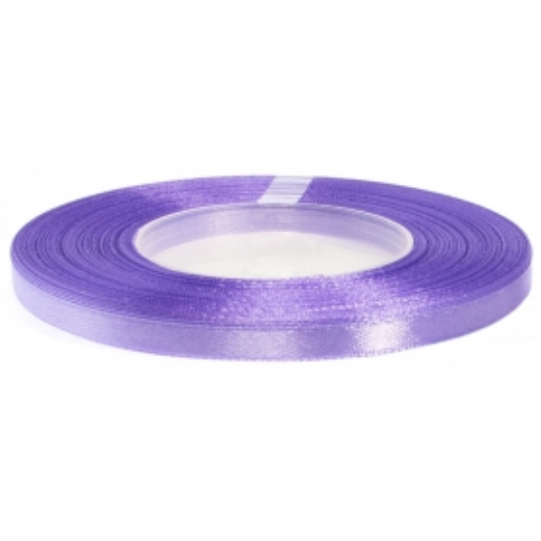 Satiinpael 6 mm lavendlililla