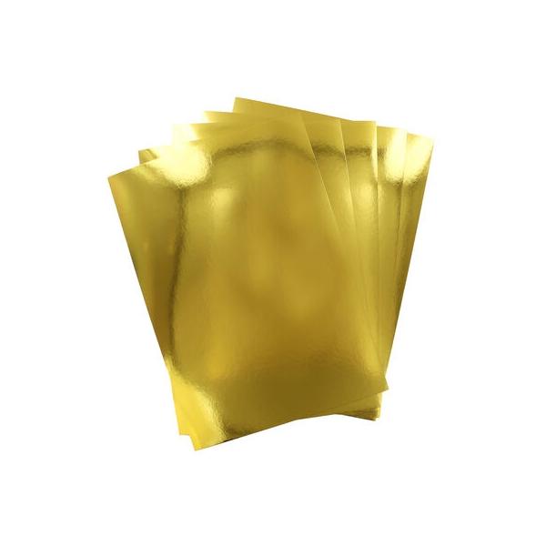 Premium Mirror Card A4 Gold