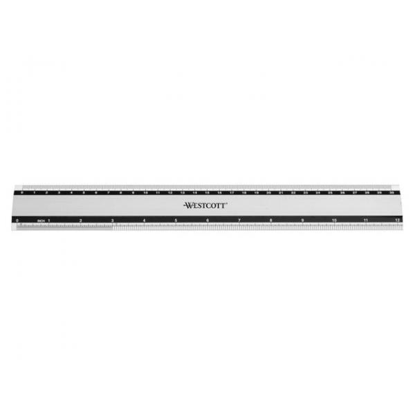 Westcott alumiiniumist joonlaud 30 cm