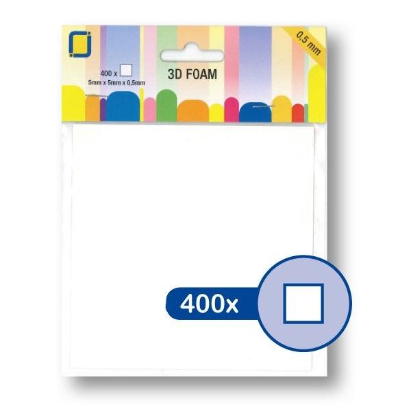 3D Foam 5 mm x 5 mm x 0,5 mm