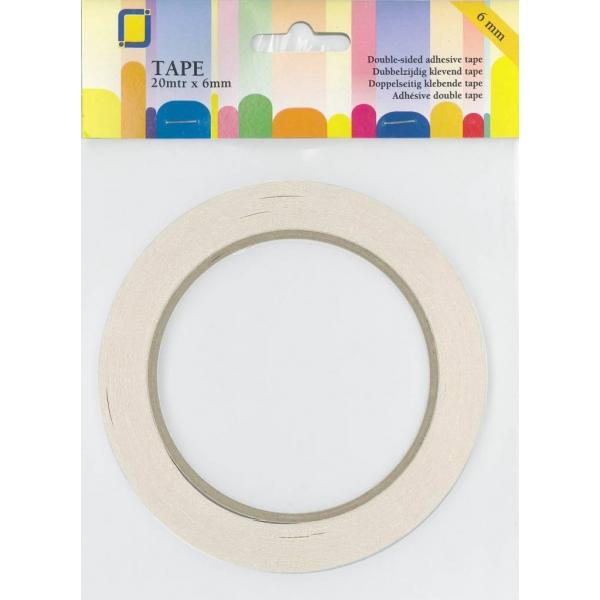 JEJE kahepoolne paberteip 6 mm